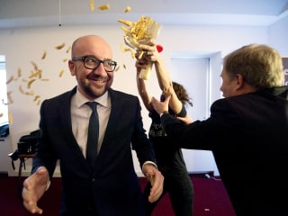Fries With That? Belgian PM Shrugs Off Chips and Sauce Attack