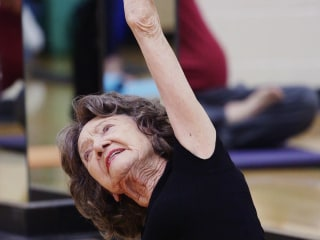 Secrets From World's Oldest Yoga Teacher: 'I Don't Believe in Age'