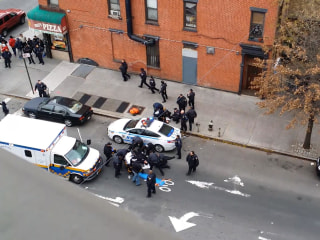 Video Shows Frantic Aftermath of NYPD Ambush