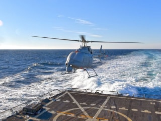'Significant' Milestone: Navy Helicopter Drone Completes First Tests