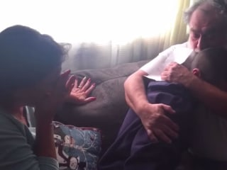 Watch: Son surprises parents, pays off their mortgage