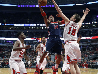 Bulls Fall to Wizards Despite 32 From Derrick Rose