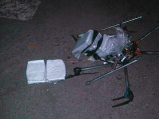Drone Carrying Meth Crashes Near U.S. Border