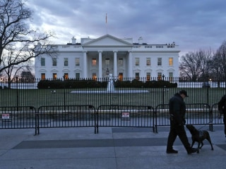 Drone Lands Inside White House Grounds