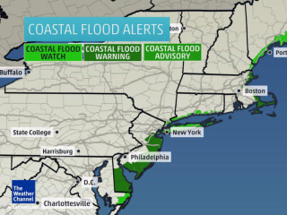 Not Just Snow: Blizzard 2015 Brings Coastal Flood Threat