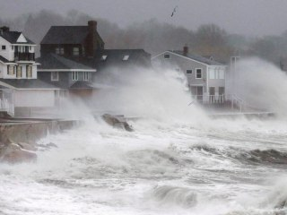 Massachusetts Town of Scituate Cuts Power to Prevent Flood Fires