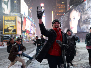 Blizzard a Bust For NYC as Worst Fears Fail to Materialize