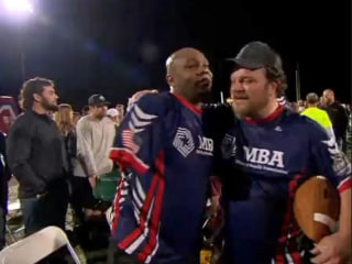 Wounded Warriors Face Off Against NFL Hall-of-Famers