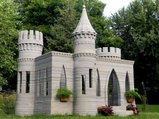 Man Who 3-D Printed Castle Now Wants to Print Village