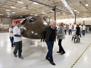 Virgin Galactic Gears Up for Building Third SpaceShipTwo