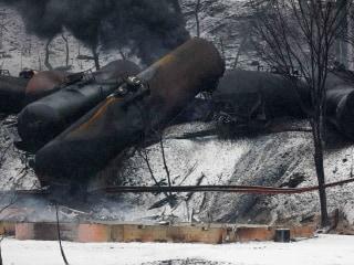 Officials: Broken Rail Caused CSX Train Derailment in West Virginia