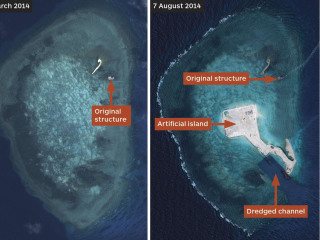 China Builds Islands in Disupted South China Sea: IHS Jane's Defense Weekly