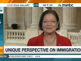Sen. Mazie Hirono, Sole Immigrant Senator, Talks Immigration