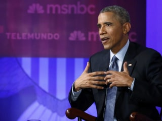 President Obama Defends Immigration Policies in MSNBC/Telemundo Town Hall