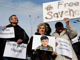 Russia's Detention of Ukraine Pilot Nadiya Savchenko 'Unacceptable': U.S.