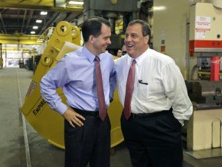 Walker and Christie's Different Approaches To Unions Tested At CPAC