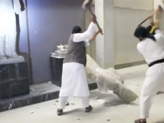 ISIS Video Purports to Show Militants Smashing Ancient Iraq Artifacts