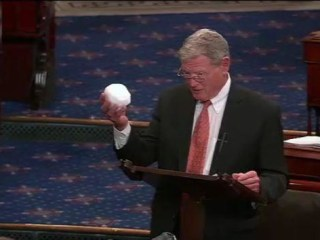 The Senate, a Snowball and a Climate Change Skeptic