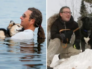 Man From Viral Dog Photo Adopts Rescue Pup