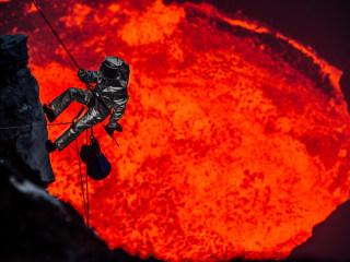 Explorer Uses Drones to Peer Inside a Volcano