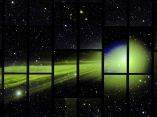 Dark Energy Camera Spots Comet Lovejoy by Accident