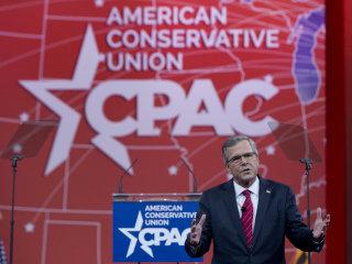 Jeb Bush Caps Off CPAC