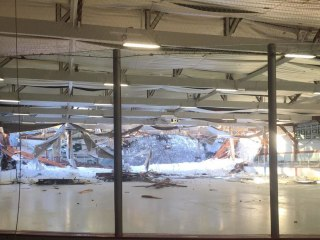Youth Hockey Team Escapes Injury in Rink Roof Collapse
