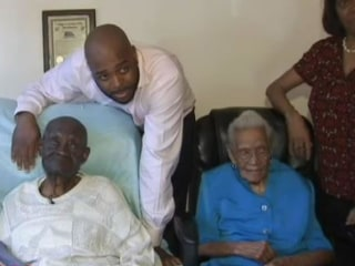 Husband, 108, and Wife, 104, Celebrate Joint Birthday