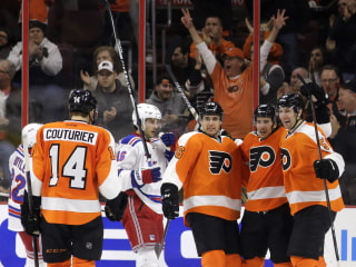 Mason, Del Zotto Short-Handed Goal Help Flyers Cool Off Rangers