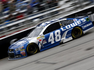 Jimmie Johnson Rallies in Atlanta for Fourth Win