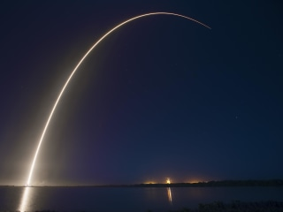 SpaceX's Falcon 9 Rocket Launches All-Electric Satellites