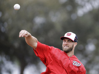 Bryce Harper: 'I Have to Step Up a Little Bit'