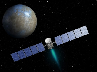Dawn Probe Closes In for Mystery Tour of Dwarf Planet Ceres