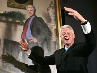 Bill Clinton Portrait Has Hidden Monica Lewinsky Reference, Painter Says