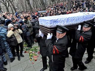 Boris Nemtsov, Slain Russian Politician, Is Laid to Rest in Moscow