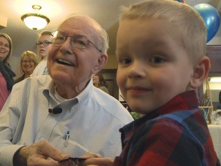 Minnesota Boy, 4, Reunited With WWII Veteran in Touching Birthday Tribute