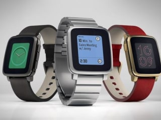New 'Time Steel' Smartwatch Propels Pebble to Top of Kickstarter List