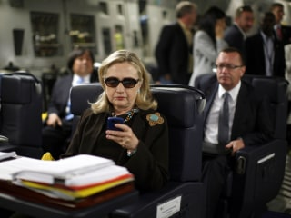 Hillary Clinton's Personal Email Use Differed from Other Top Officials