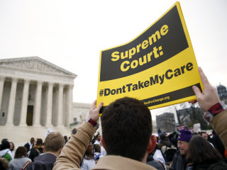 Supreme Court Hears Obamacare Challenge But Outcome Impossible to Predict