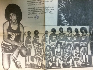 Prince's Junior High Basketball Photo is Vintage Prince