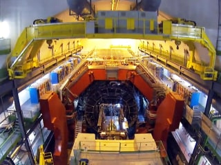 Get a Drone's-Eye View of the Large Hadron Collider
