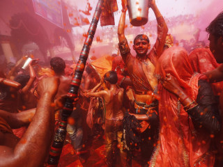 Explore the Lush Colors of India's Holi Festival