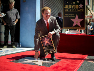 Will Ferrell Accepts Star on Hollywood Walk of Fame