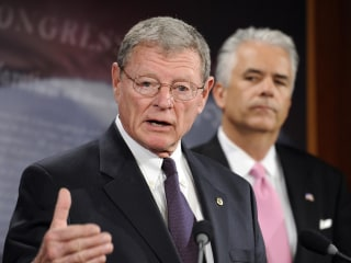 Inhofe Sets His Sights on Obama's Climate Agenda
