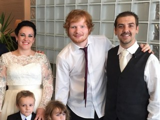 Ed Sheeran Surprises Couple With Wedding Serenade