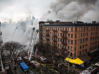 Two Missing After NYC Building Collapse, Fire: Official