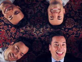 Watch Jimmy Fallon Croon 'Barbara Ann' With Wax Dummies of Himself