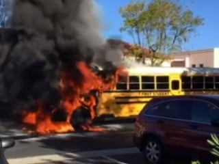'Hero' Driver Helps Students Escape Burning Bus in California