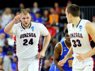 No. 2 Gonzaga Gets Past No. 11 UCLA to Advance to Elite 8