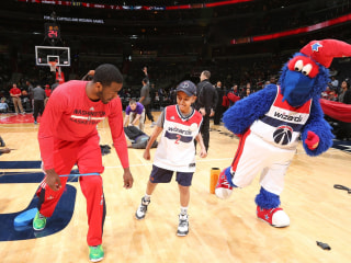 Watch John Wall Give Interview With Special Guest from Make-A-Wish